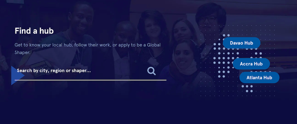 Global shapers, youth leaders