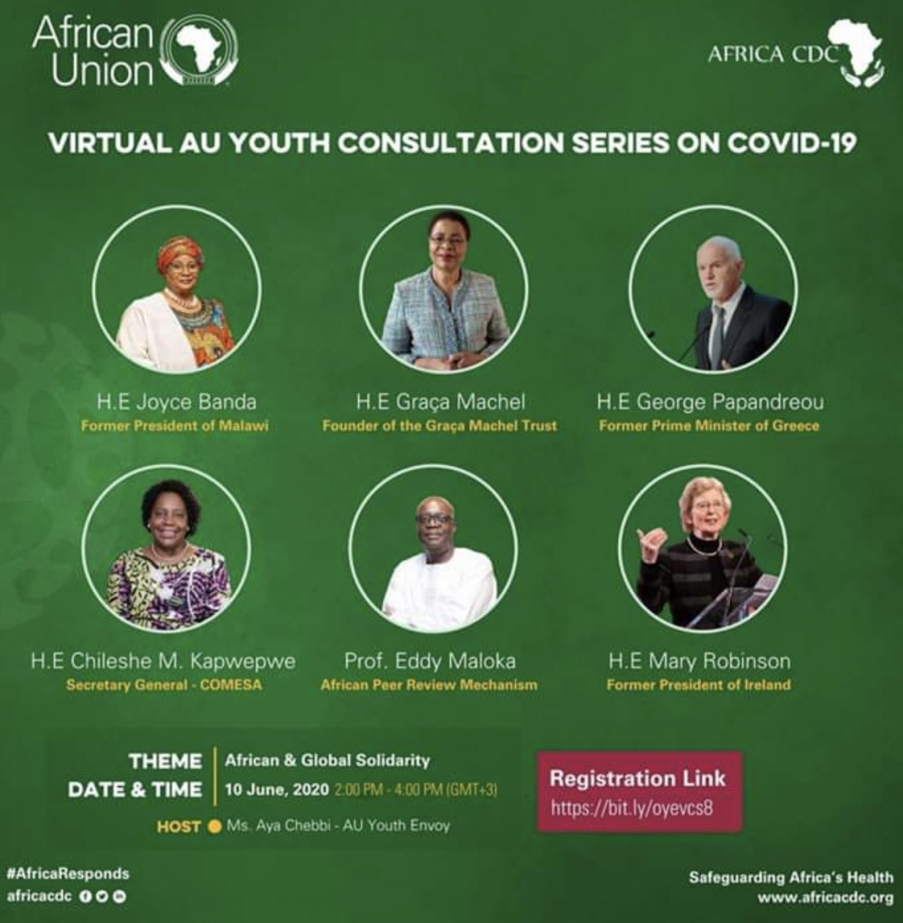 African Union Youth Consultation event poster