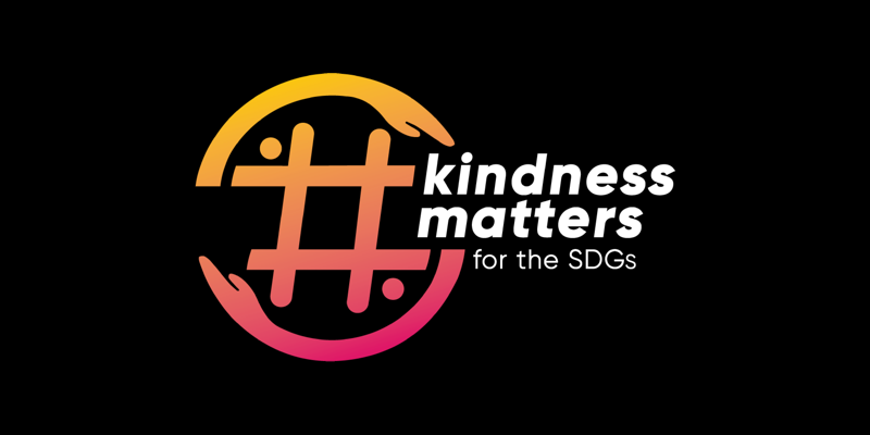 the official poster for the kindness matters campaign.