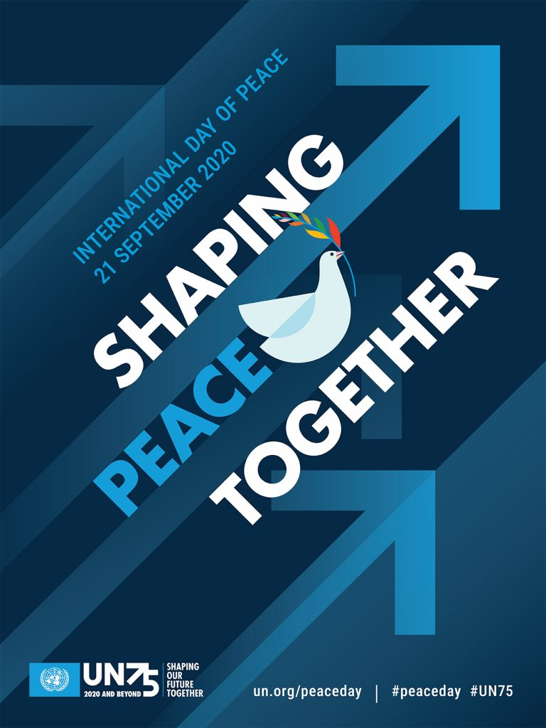 The poster for Peace Day 2020
