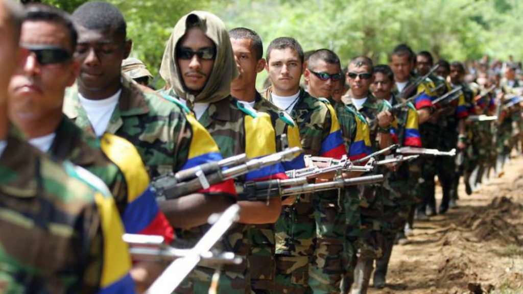 This picture is a troop of the FARC-EP guerrilla.