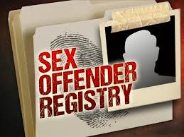 sex offenders' regstry graphic