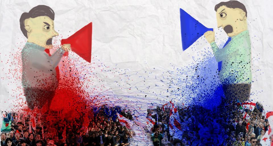 Blue vs. Red: Polarized US Politics