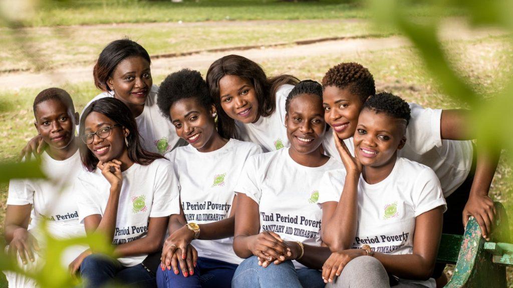 Sanitary Aid Zimbabwe Volunteers